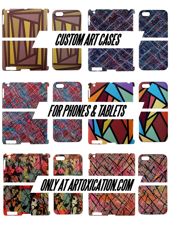 Art Cases for Phones and Tablets